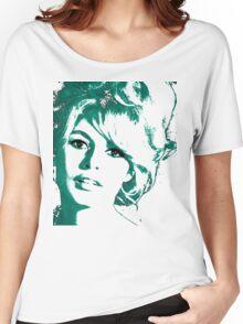 Brigitte Bardot 1960's face Women's Relaxed Fit T-Shirt