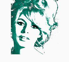 Brigitte Bardot 1960's face Womens Fitted T-Shirt
