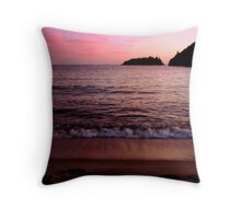 Horseshoe Bay Pukaskwa National Park - Heron Bay Ontario Canada Throw Pillow