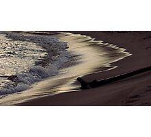 Horseshoe Bay Pukaskwa National Park - Heron Bay Ontario Canada II Photographic Print