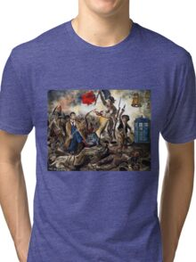 Liberty Leading the Doctor Tee Tri-blend T-Shirt