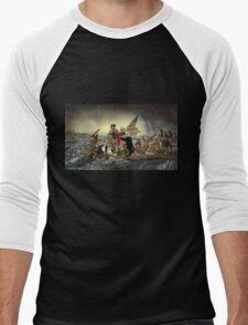 The Whos Crossing the Delaware Men's Baseball ¾ T-Shirt
