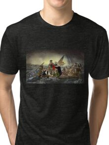 The Whos Crossing the Delaware Tri-blend T-Shirt