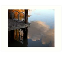 Hows the serenity?  Art Print