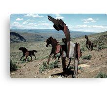 Iron Horses - Washington State Canvas Print