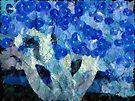 My blue indigo tree by Aimelle