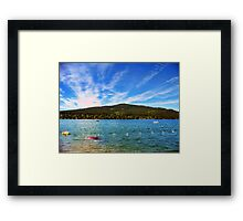 Lion Mountain (Whitefish, Montana, USA) Framed Print