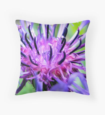 Spiky! Throw Pillow