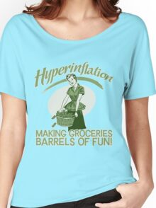 Hyperinflation Women's Relaxed Fit T-Shirt