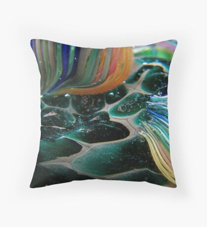 Abstract Seascape #11 Throw Pillow