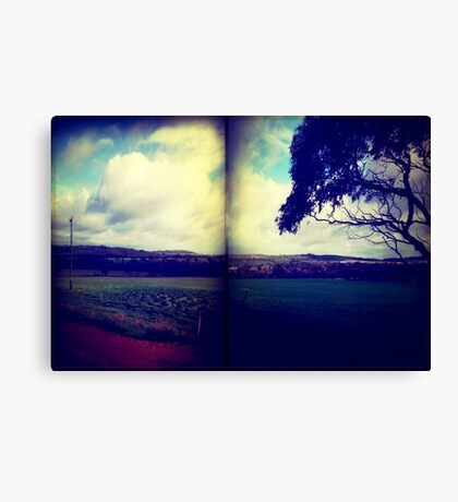 pastures Canvas Print