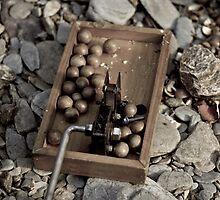 Macadamia nut cracker machine by harper white