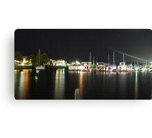 Tweed Harbour Lights Canvas Print