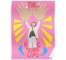 The flaming lips - big hands Poster