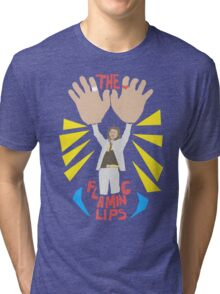 The flaming lips - big hands Tri-blend T-Shirt