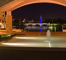 Bond University under the arch by flexigav
