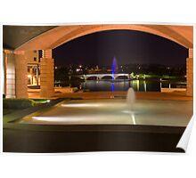 Bond University under the arch Poster