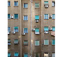 Broken grid Photographic Print