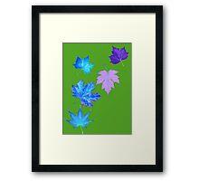 Nature - Inverted Leaf Framed Print