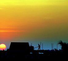 Sunset in Mysore by Nikhil Kulkarni