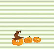 Pumpkin with hat by ASCasanova
