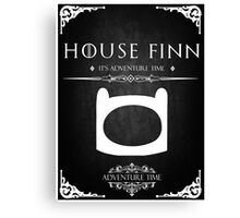 House Finn Canvas Print