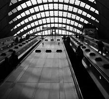 Canary Wharf Tube Station by John Dalkin
