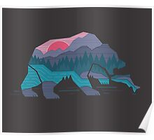 Bear Country Poster