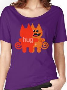 KAT HUG Women's Relaxed Fit T-Shirt