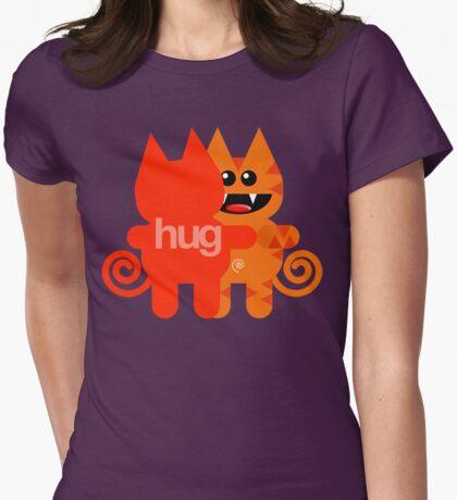 KAT HUG Womens Fitted T-Shirt