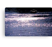 Silent Sorrow In Empty Boats (Genesis) Canvas Print