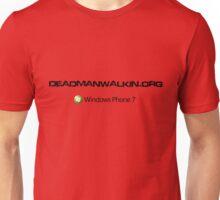 DeadManWalkin.org Windows Phone 7 WP7 Zune Unisex T-Shirt