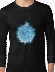 Blade Sphere Blue Long Sleeve T-Shirt