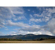 Farm Sky Photographic Print
