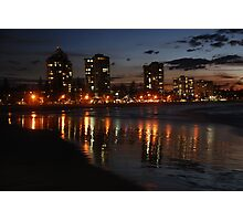Wet Sand Reflections of Coolangatta Photographic Print