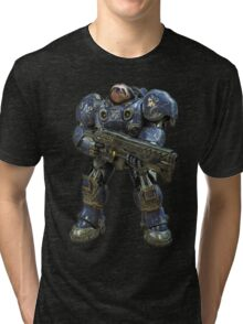 Sloth space commando Tri-blend T-Shirt