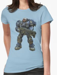 Sloth space commando Womens Fitted T-Shirt