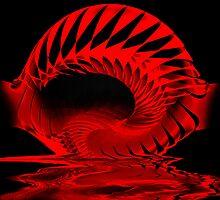 Spiral Spill by Pam Amos