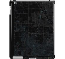 USGS Topo Map Oregon Eugene West 20110831 TM Inverted iPad Case/Skin