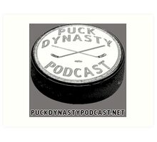 Puck Dynasty Podcast Logo Art Print