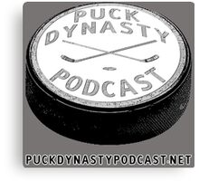 Puck Dynasty Podcast Logo Canvas Print