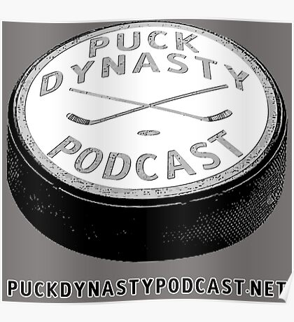 Puck Dynasty Podcast Logo Poster