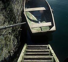 Step Into The Boat by Dean Bailey