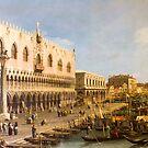 Venice - artwork in painting style by Atanas Bozhikov NASKO