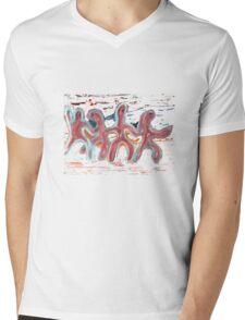The Dancing Men Mens V-Neck T-Shirt