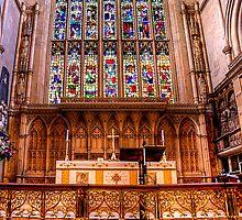 Bath Abbey by Svetlana Sewell