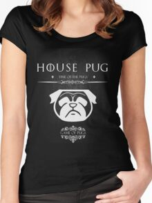 House Of Pugs Women's Fitted Scoop T-Shirt