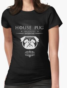 House Of Pugs Womens Fitted T-Shirt