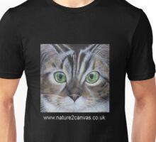 Cat's face close up on a t-shirt Unisex T-Shirt