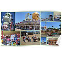 Skegness Collage Poster